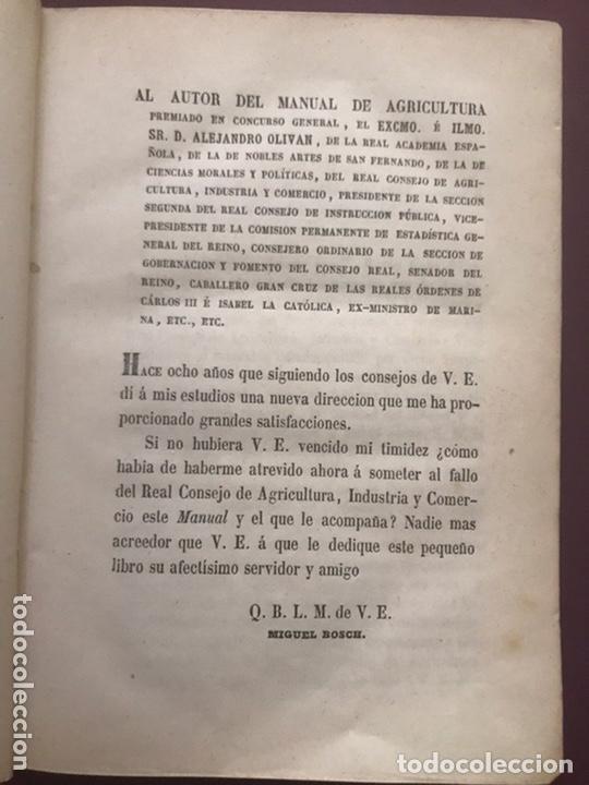 Libros antiguos: 1858 - Miguel Bosch - Manual de mineralogía y Manual de Botanica - Foto 2 - 209238427