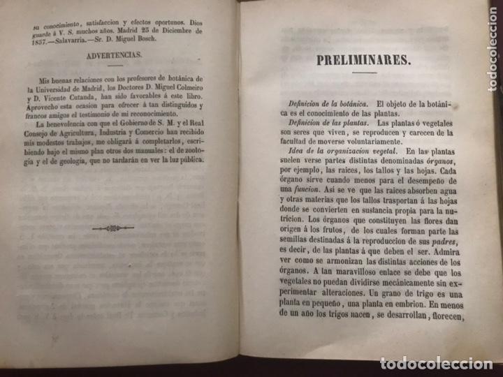 Libros antiguos: 1858 - Miguel Bosch - Manual de mineralogía y Manual de Botanica - Foto 8 - 209238427