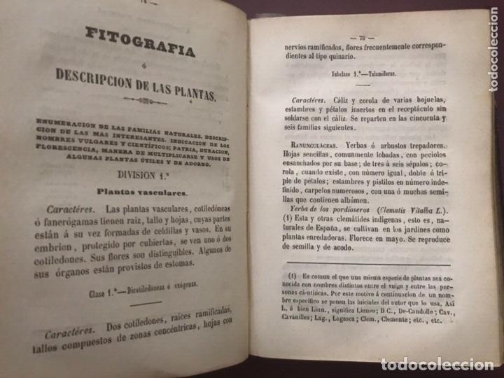 Libros antiguos: 1858 - Miguel Bosch - Manual de mineralogía y Manual de Botanica - Foto 9 - 209238427