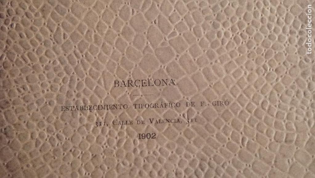 Libros antiguos: Naturaleza Harmonica del Espacio de Jose Fola igurbide. Edición de 1902 - Foto 2 - 209246375