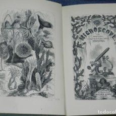 Libros antiguos: (MF) JABEZ HOGG - THE MICROSCOPE ITS HISTORY, CONSTRUCTION AMB APPLICATIONS, LONDON 1854. Lote 210005792