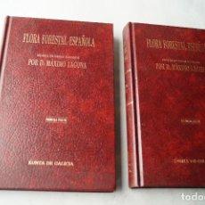 Libros antiguos: FLORA FORESTAL ESPAÑOLA. MÁXIMO LAGUNA. ES UN FACSIMIL DE UN LIBRO DE 1883.. Lote 210555968