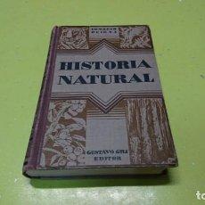 Libros antiguos: HISTORIA NATURAL, IGNACIO PUIG, 1932. Lote 210608436
