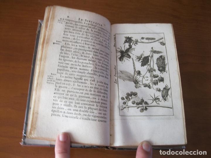 Libros antiguos: Le Spectacle de la Nature, vol. I, 1736. A. Pluche. Numerosos grabados - Foto 7 - 211695023