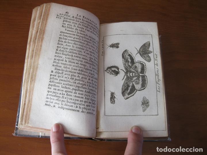 Libros antiguos: Le Spectacle de la Nature, vol. I, 1736. A. Pluche. Numerosos grabados - Foto 10 - 211695023