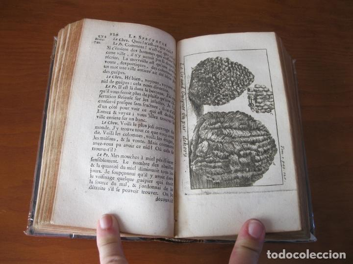 Libros antiguos: Le Spectacle de la Nature, vol. I, 1736. A. Pluche. Numerosos grabados - Foto 13 - 211695023