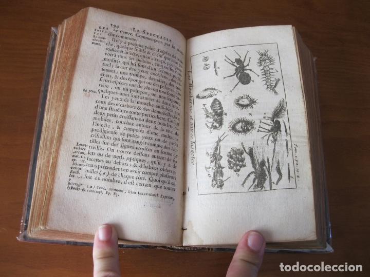 Libros antiguos: Le Spectacle de la Nature, vol. I, 1736. A. Pluche. Numerosos grabados - Foto 16 - 211695023