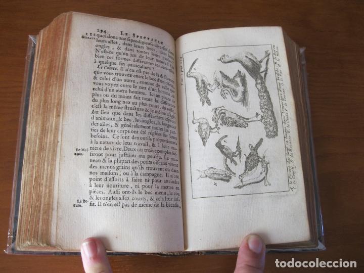 Libros antiguos: Le Spectacle de la Nature, vol. I, 1736. A. Pluche. Numerosos grabados - Foto 20 - 211695023