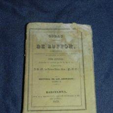 Libros antiguos: (MF) OBRAS DE BUFFON POR CUVIER, HISTORIA DE LOS ANIMALES TOMO I , BARCELONA 1833, 296 PAG. Lote 211948993