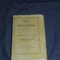 Libros antiguos: (MF) OBRAS DE BUFFON POR CUVIER, HISTORIA DEL HOMBRE TOMO IIII , BARCELONA 1834, 245 PAG. Lote 211949153