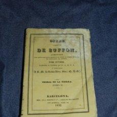 Libros antiguos: (MF) OBRAS DE BUFFON POR CUVIER, TEORIA DE LA TIERRA TOMO II , BARCELONA 1832, 253 PAG. Lote 211949213