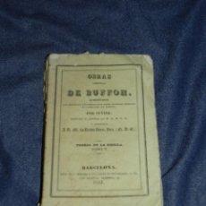 Libros antiguos: (MF) OBRAS DE BUFFON POR CUVIER, TEORIA DE LA TIERRA TOMO V , BARCELONA 1832, 229 PAG. Lote 211949315