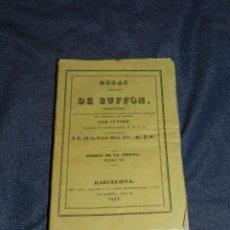 Libros antiguos: (MF) OBRAS DE BUFFON POR CUVIER, TEORIA DE LA TIERRA TOMO VI , BARCELONA 1833, 236 PAG. Lote 211952653