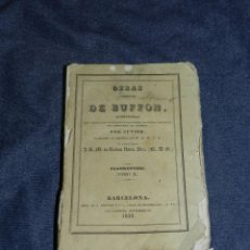 Libros antiguos: (MF) OBRAS DE BUFFON POR CUVIER, CUADRUPEDOS TOMO II , BARCELONA 1832, 251 PAG. Lote 211952790