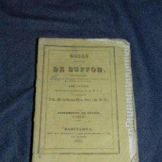 Libros antiguos: (MF) OBRAS DE BUFFON POR CUVIER, SUPLEMENTO DE CUVIER TOMO III , BARCELONA 1835, 293 PAG. Lote 211952925