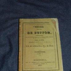 Libros antiguos: (MF) OBRAS DE BUFFON POR CUVIER, CUADRUPEDOS TOMO V , BARCELONA 1833, 256 PAG. Lote 211953183