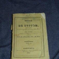 Libros antiguos: (MF) OBRAS DE BUFFON POR CUVIER, CUADRUPEDOS TOMO IX , BARCELONA 1833, 294 PAG. Lote 211953966