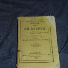 Libros antiguos: (MF) OBRAS DE BUFFON POR CUVIER, CUADRUPEDOS TOMO XII , BARCELONA 1833, 258 PAG. Lote 211954173