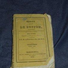 Libros antiguos: (MF) OBRAS DE BUFFON POR CUVIER, CUADRUPEDOS TOMO XIII , BARCELONA 1833, 249 PAG. Lote 211954275