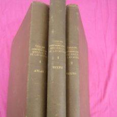 Libros antiguos: PREPARACION MECANICA DE LAS MENAS 3 TOMOS COMPLETA GULLON Y DABAN DE MINAS 1913. Lote 195990283