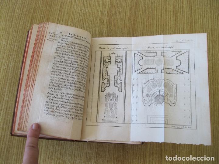 Libros antiguos: Le Spectacle de la Nature, tomo II, 1752. A. Pluche. Grabados - Foto 8 - 212248053
