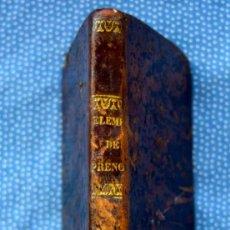 Libros antiguos: ELEMENTOS DE FRENOLOJIA.FISONOMIA I MAGNETISMO HUMANO-MARIANO CUBI I SOLER-IMPRENTA HISPANA,1ED.1849. Lote 212355988