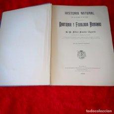 Libros antiguos: HISTORIA NATURAL ANATOMIA Y FISIOLOGIA HUMANAS. Lote 212410807