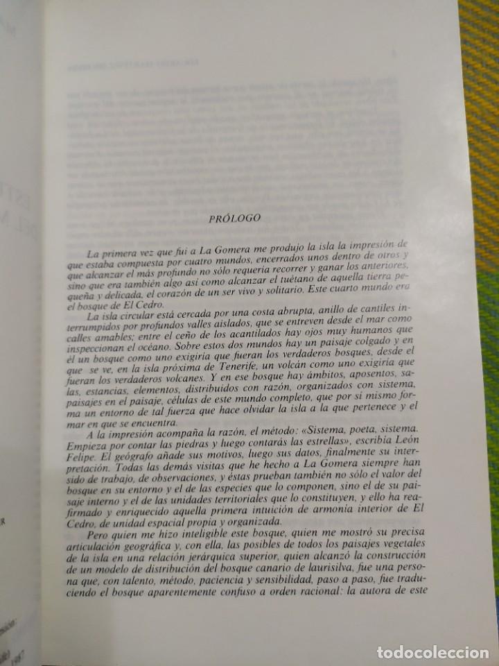 Libros antiguos: Estudio geográfico del Monte de El Cedro. María Eugenia Arozena. - Foto 3 - 213882897