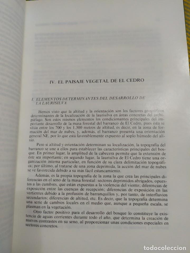 Libros antiguos: Estudio geográfico del Monte de El Cedro. María Eugenia Arozena. - Foto 7 - 213882897