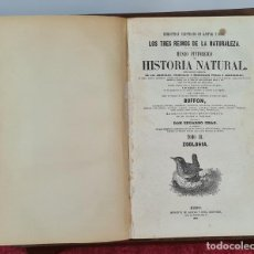 Libros antiguos: LOS TRES REINOS DE LA NATURALEZA. BUFON. IMP. GASPAR Y ROIG. TOMO III. 1854.. Lote 214248526