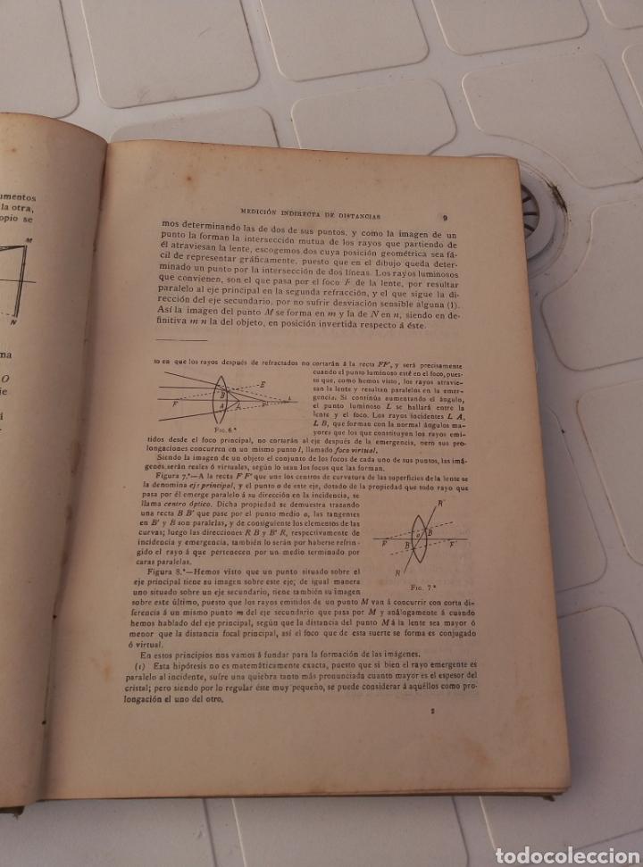 Libros antiguos: Muy interesante libro taquimetria. Por Eusebio Sanchez y lozano. Año 1902 - Foto 3 - 214527705