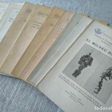 Libros antiguos: 10 PUBLICACIONES TÉCNICAS SOBRE EL CULTIVO DE LA VIÑA (1934 - 1956), VIÑEDOS VID VINO - VER FOTOS. Lote 214541983