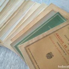 Libros antiguos: 26 PUBLICACIONES ANTIGUAS SOBRE AGRICULTURA, ARBOLES FRUTALES, TRIGO, REMOLACHA, LEGUMINOSA, CASTAÑO. Lote 214542581