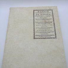 Libros antiguos: EL ESPEJO CRISTALINO DE LAS AGUAS DE ESPAÑA EDICIÓN FACSÍMIL. Lote 215960030