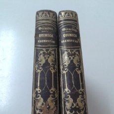 Libros antiguos: QUIMICA ELEMENTAL GIRARDIN 1854 ILUSTRADO. Lote 216370483