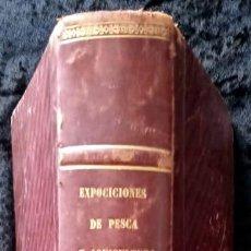 Libros antiguos: PESCA Y ACUICULTURA - 1867 - CON GRABADOS - INTERESANTE Y RARO -. Lote 216513423