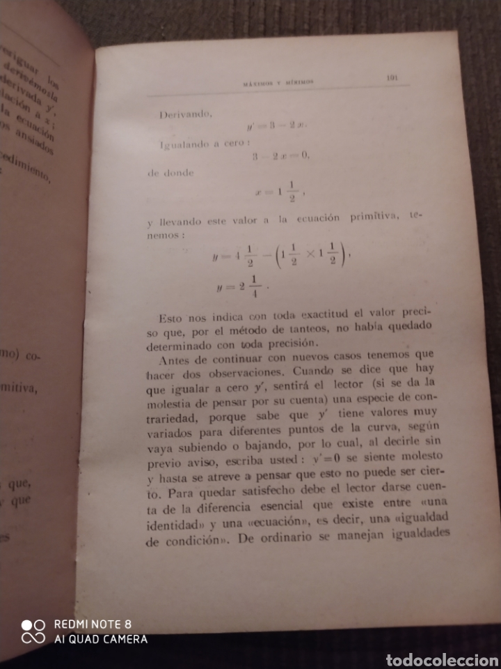 Libros antiguos: CÁLCULO INFINITESIMAL AL ALCANCE DE TODOS. SILVANUS P. THOMPSON, F.R.S. 1932. - Foto 3 - 216613592