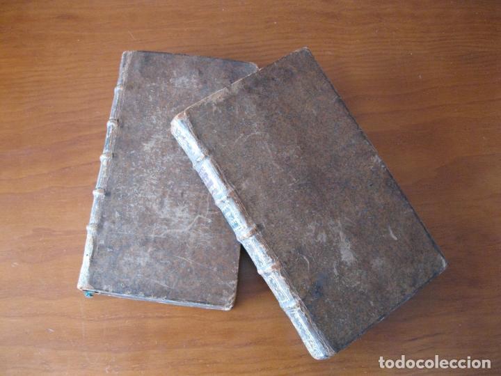 Libros antiguos: Le spectacle de la Nature, 2 volúmenes, 1751. A. Pluche. Dos frontispicios - Foto 2 - 216867763
