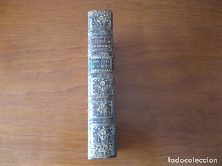 Libros antiguos: Le spectacle de la Nature, 2 volúmenes, 1751. A. Pluche. Dos frontispicios - Foto 4 - 216867763
