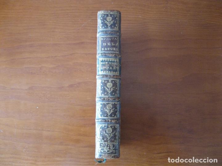 Libros antiguos: Le spectacle de la Nature, 2 volúmenes, 1751. A. Pluche. Dos frontispicios - Foto 10 - 216867763