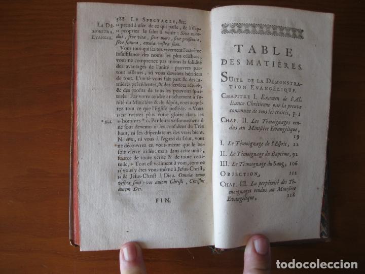 Libros antiguos: Le spectacle de la Nature, 2 volúmenes, 1751. A. Pluche. Dos frontispicios - Foto 14 - 216867763