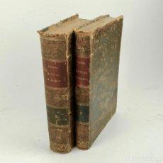 Libros antiguos: MANUAL DE GEOLOGÍA APLICADA A LA AGRICULTURA Y ARTES INDUSTRIALES. JUAN VILANOVA. TOMOS I Y II. 1860. Lote 216925637