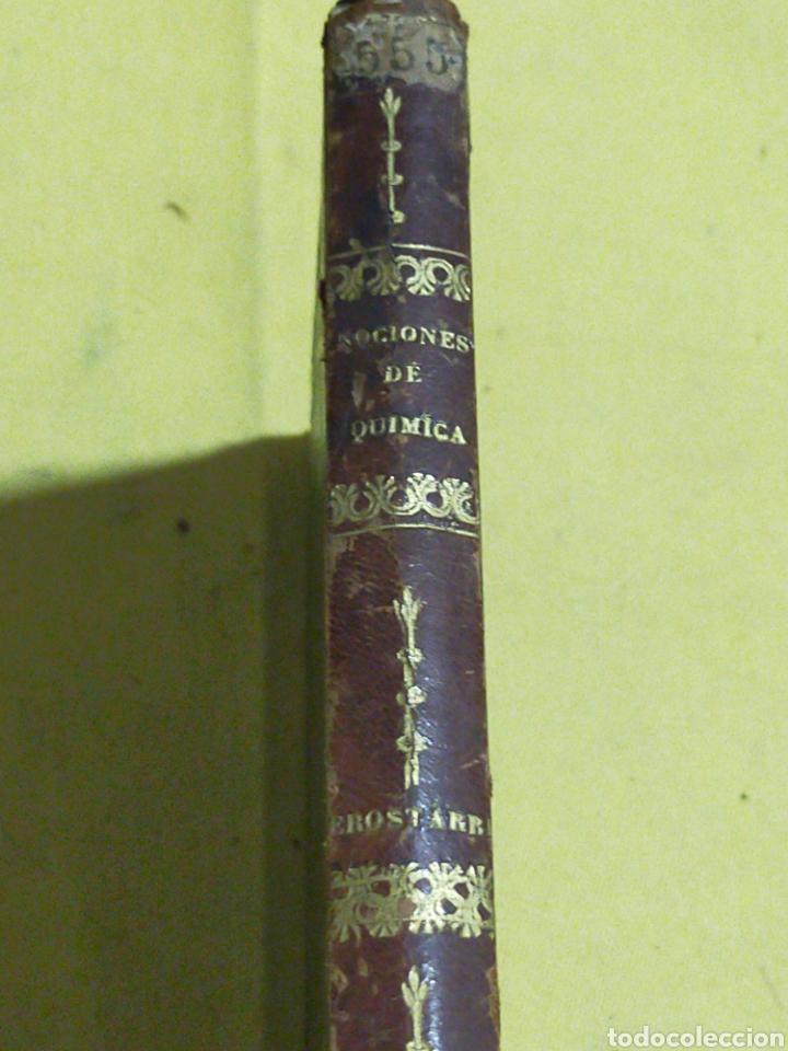 Libros antiguos: 1842 NOCIONES ELEMENTALES DE QUIMICA 229 PAGINAS - Foto 3 - 217178128