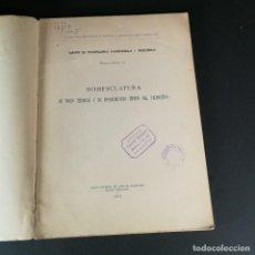 Libros antiguos: PALEONTOLÓGICAS MEMORIA N 10 NOMENCLATURA VOCES TÉCNICAS E INSTRUMENTOS TÍPICOS DEL PALEOLÍTICO 1916. Lote 218073156