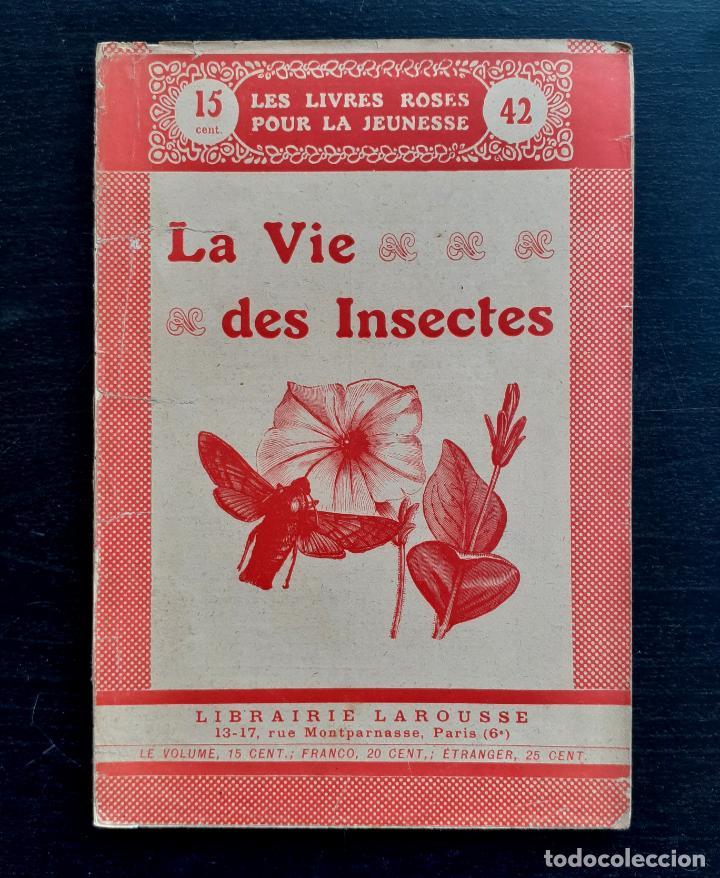 1910 - LA VIDA DE LOS INSECTOS - ENTOMOLOGÍA PARA NIÑOS - ILUSTRADO CON 35 GRABADOS - ZOOLOGÍA (Libros Antiguos, Raros y Curiosos - Ciencias, Manuales y Oficios - Bilogía y Botánica)