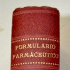 Libros antiguos: FORMULARIO FARMACÉUTICO MANUSCRITO. TOMO 10. CASI 800 PÁGINAS DE RECETAS Y FÓRMULAS.ZARAGOZA 1931-32. Lote 218505980