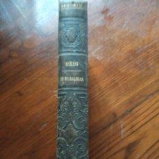 Libros antiguos: ELEMENTOS DE MINERALOGÍA. ANTONIO ORIO. IMPRENTA SEGUNDO MARTINEZ. 1882.. Lote 218525996