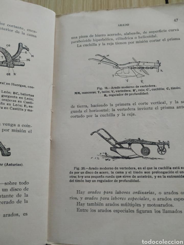 Libros antiguos: Agricultura elemental española, de 1929 - Foto 4 - 218717165
