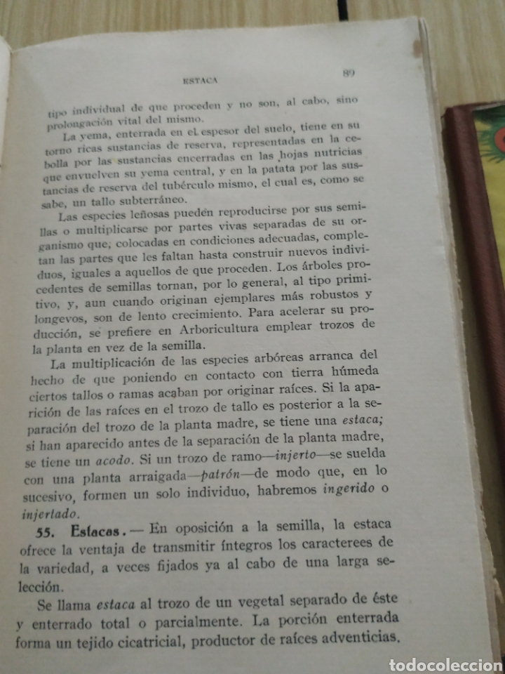 Libros antiguos: Agricultura elemental española, de 1929 - Foto 5 - 218717165