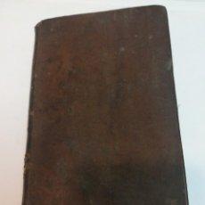 Libros antiguos: COMPENDIO DE LA HISTORIA NATURAL DE BUFFON. TOMO X S937T. Lote 219625357